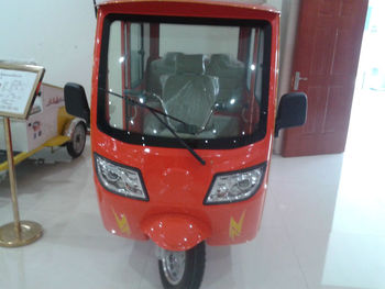 beautiful shape electric passenger rickshaws