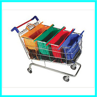 Hot Sale Supermarket Trolley Bag, Reusable Trolley Shopping Bag, Grocery Trolley Bag