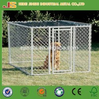 High quality used galvanized chain link dog kennel panels