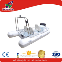 rib 500 inflatable 1.2 pvc material sport boats