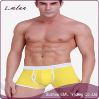 Eco-friendly Fabric Man's Sports Thick Cotton Boxer Underwear