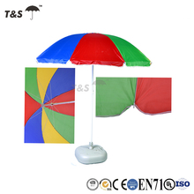 Tianshuo 2017 parasol solar tropical tiki square wholesale uv protection outdoor tent fishing beach umbrella