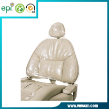 Eco-friendly Custom Clear Plastic Dental Chair Cover - 14'' x 9 1/2 '',250pcs/Box
