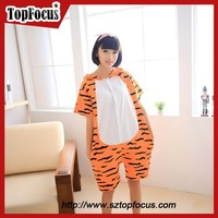 China trade assurance supplier fashion party summer adult minion pyjamas