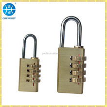 4 digital Brass combination lock brass lock brass padlock