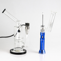 Bubbler pen attachment ceramic wax glass pipe vaporizer electronic smoking pipe