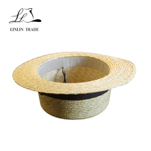 hot selling cheap wholesale straw hats wheat straw boater hat