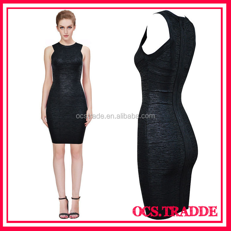 Western Party Wear Bodycon Bandage Dress knee-length online dress shopping