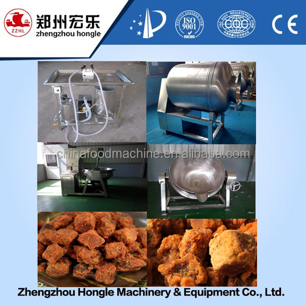 beef jerky particles processing machine
