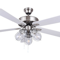 52 Inch Modern Ceiling Fan With