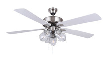 52 inch modern ceiling fan with light