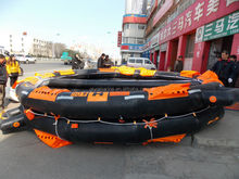 Solas open reversible inflatable life raft