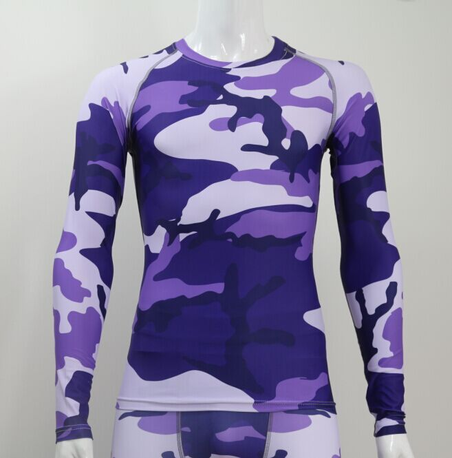 Sublimation cycling wear LIVELY Spandex/Lycra pant Long Sleeve Compression Shirts