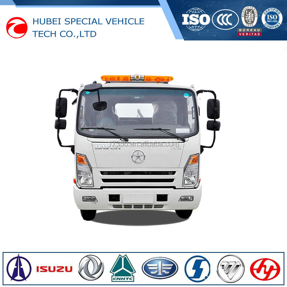 China new euro 3 diesel white color tow truck japan for sale in dubai