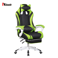 High back recline chair game swivel sports mesh racing chair
