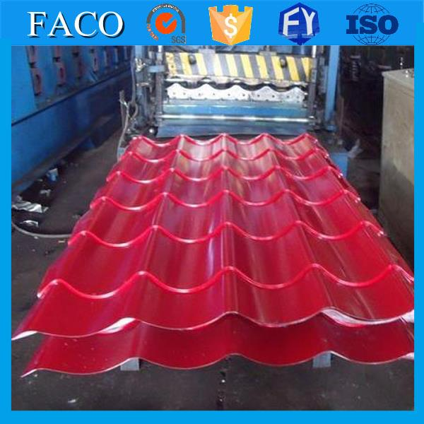 Hot selling galvanized roofing sheet galvanized sheet metal roofing price with high quality