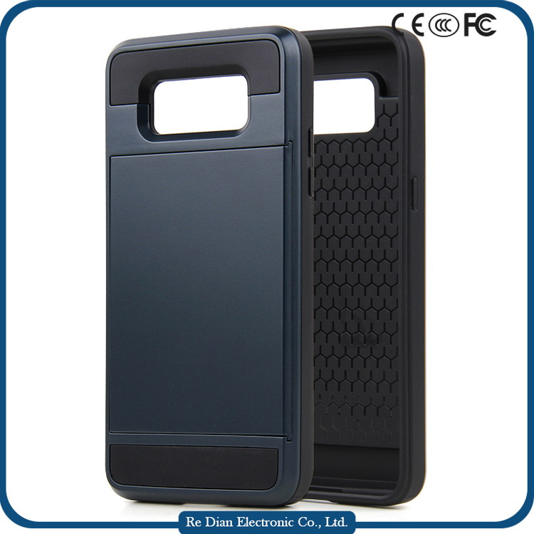 Hot selling phone case phone back cover phone shell with card inserted function for Samsung G530