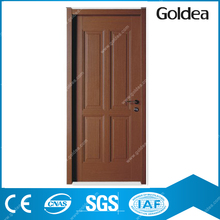 Goldea mahogany wood entry swing composite door