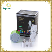 Remote control mini 8GB memory quran bluetooth speaker with led light