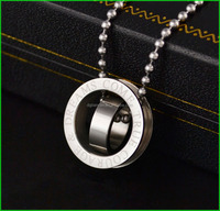 hot sale concentric ring pendant necklace
