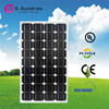Factory directly sale 140w monocrystalline solar panel in china