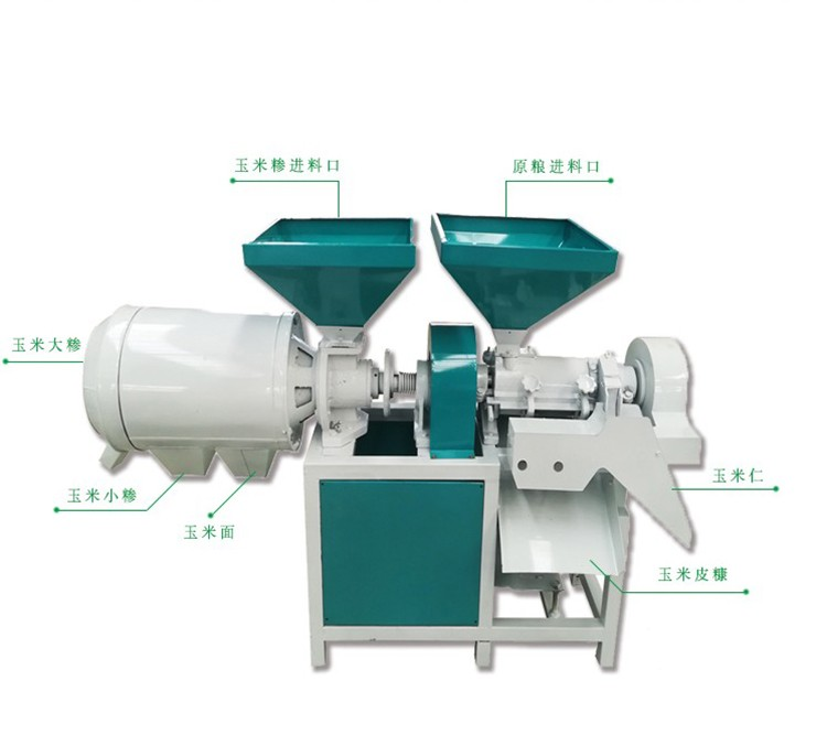 diesel engine Maize grits making machine/corn degerminator and corn milling machine for sale