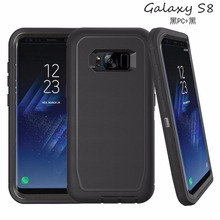Heavy Duty Rugged Defense Case PC TPU Phone Case for Samsung Galaxy S8