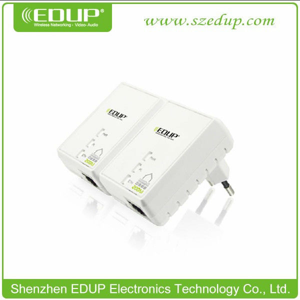 200Mbps Home Plug AV Ethernet Mini Ethernet Bridge Powerline EP-PLC5511