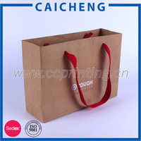 Recycle Strong Brown Kraft Paper Bag for Garment