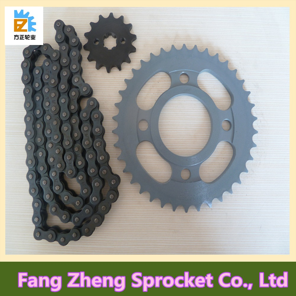 Motorcycle Transmission Chain and Sprocket Kit