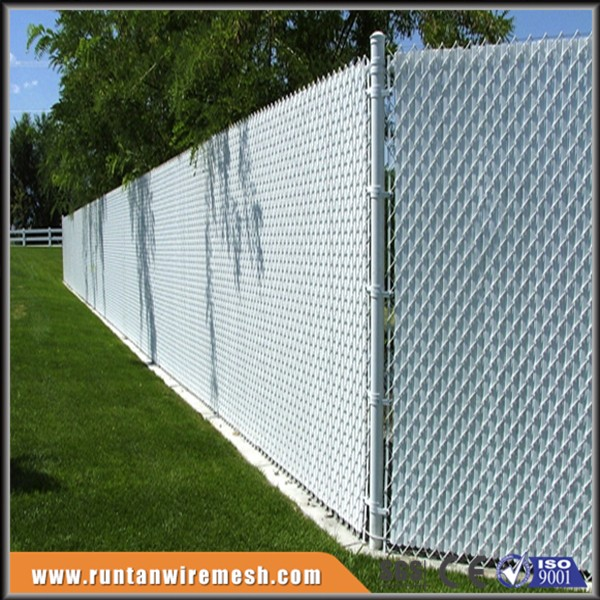 chain link fence privacy winged inserts