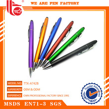 Ball pen clicking mechanism,stamp ball pen,transparent plastic ball pen