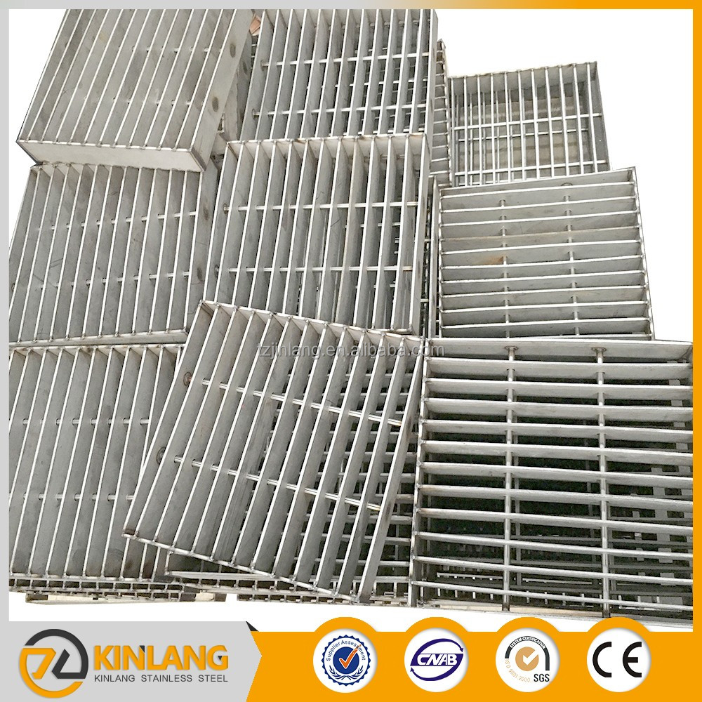 Galvanzied stainless steel driveway drainage catwalk steel grating