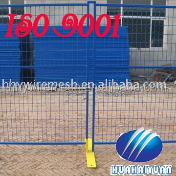 portable welded wire mesh panel fence