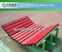 conveyor belt impact bed, pulley lagging materials Huao Group