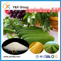 Good quality agricultural super absorbent polymer different mesh SAP YXFLOC