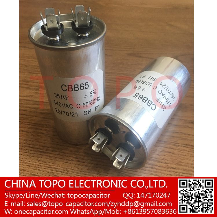 Cbb65 450vac 15uf ac motor capacitor air conditioner for Air conditioner compressor motor