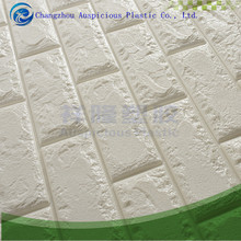 White Textured 70*77cm DIY Creative 3D Brick PE Foam Wall Sticker Self Adhesive Wallpaper
