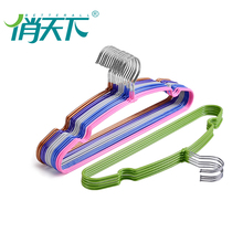 laundry drying coat clothes PVC coated metal hangers