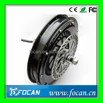 Electric Bicycle Brushless Hub Motor&Electric Bicycle Brushless Rear Wheel DC Brushless Hub Motor