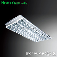 T5 ceiling fluorescent grid lamp light fixture