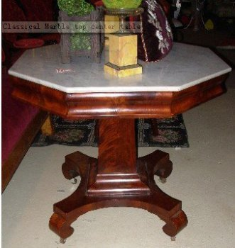 Classical Marble top center table
