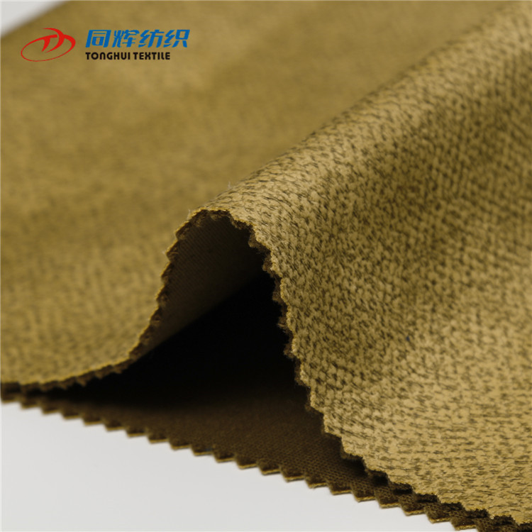 Cheap China Textile Upholstery Bronzed Sofa Upholstery micro Stretch Velour Fabric