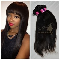Fast shipping cheap hair extension wholesale malaysian soft and free hair products