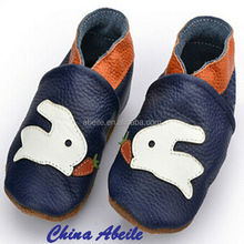 New Fancy Rabbit Animal prints sheep or cow leather moccasins babies Soft Wool Infant cow embossers shoes