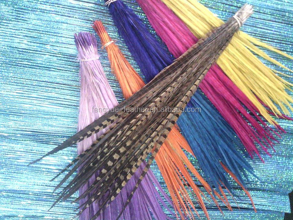 BY-1813-pheasant feather,feather mount ,feather trims, feather flower,feathers