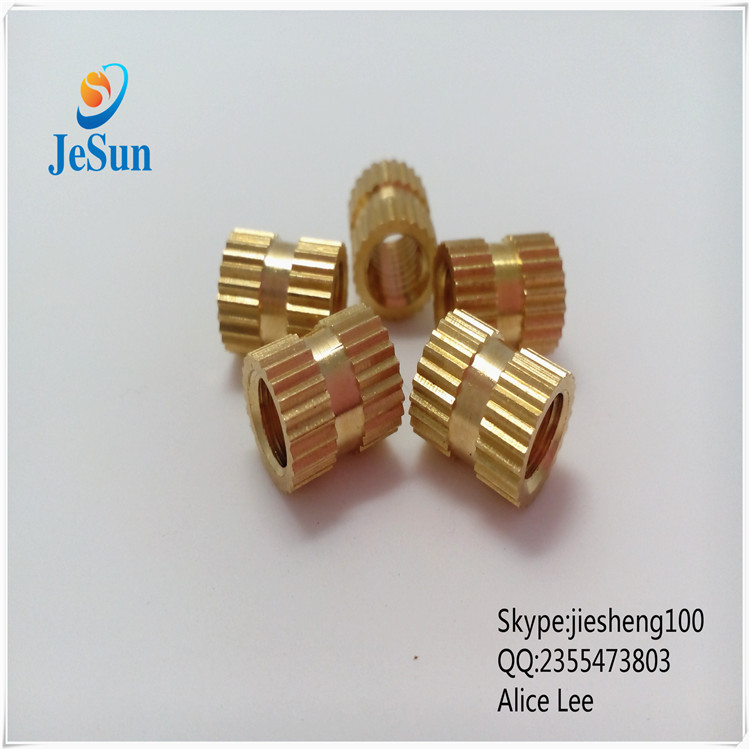 China manufacturing the best selling brass knurled nut+86 13537382696