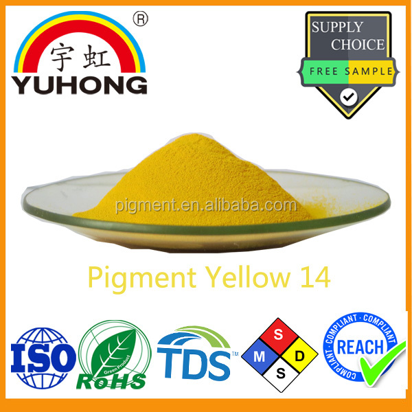 Yellow Organic Color Pigment Powder Manufacture Yellow 14 for Pakistan Ink