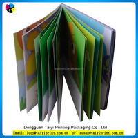 Professional Design Customized stitched instruction book printing