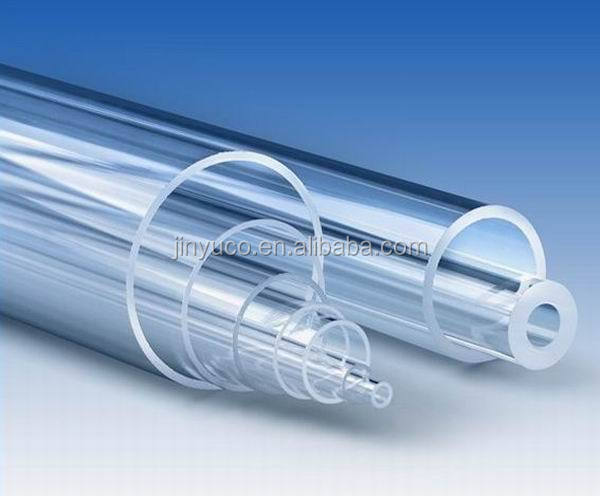 High-temperature frosted opaque milky white quartz tube